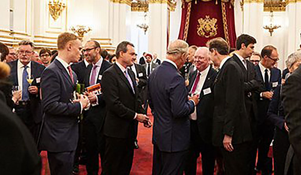 Hydro Group MD meets Prince Charles for award congratulations