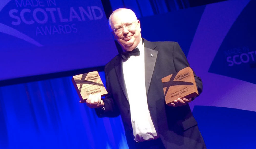Double success for Hydro Group at Made in Scotland awards